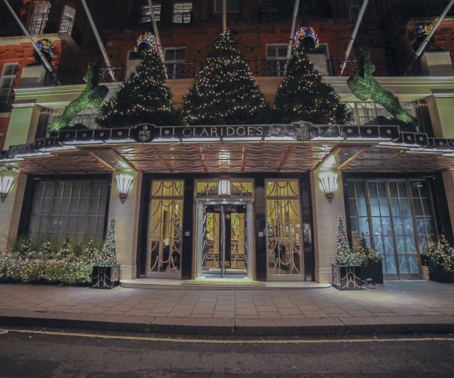 Claridge's Christmas Tree Gets Apple Makeover