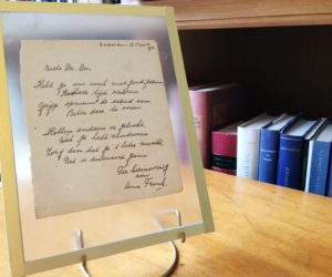 Anne Frank Poem Fetches $148,400: Dutch Auction