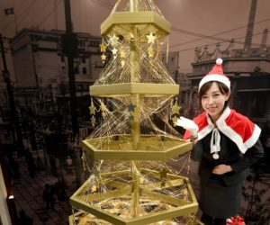 Tokyo Gets $2 million Christmas Tree