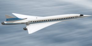 Prototype of New Supersonic Commercial Jet Unveiled