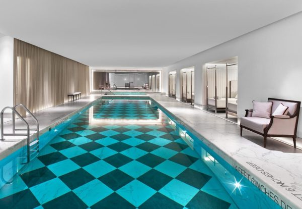Baccarat Hotel New York spa and pool © Baccarat Hotel New York