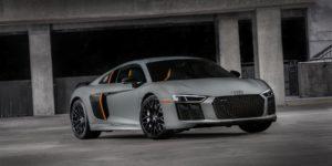 Audi R8 V10 Plus Exclusive Edition: Laser Lights