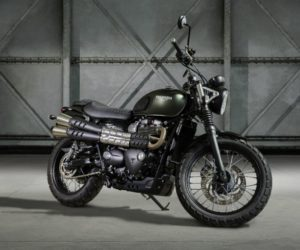 Triumph Street Scrambler Makes Milan Debut