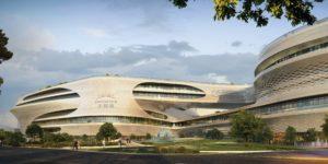 Zaha Hadid Architects for Guangzhou Infinitus Plaza