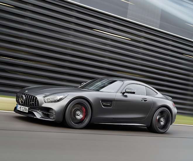 New Sports Car Released: Mercedes Unveils New AMG GT C Model For 50th  Anniversary