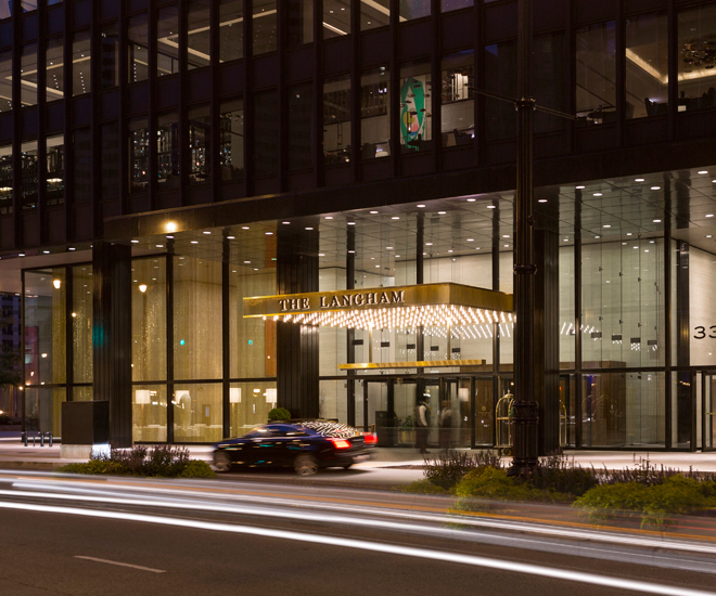 Luxury Hotels The Langham Chicago Named Best Hotel In United States