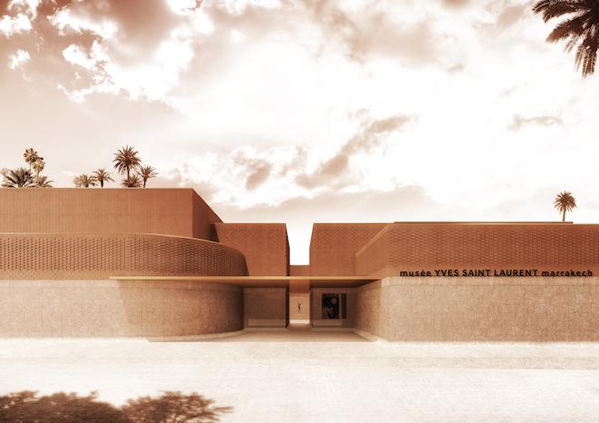 The Yves Saint Laurent museum in Marrakech will open later this year. | Musée Yves Saint Laurent Marrakech Photo © 2016 Studio KO Fondation Pierre Bergé Yves Saint Laurent