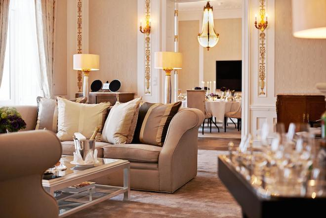 The Royal Suite at Hotel D'Angleterre