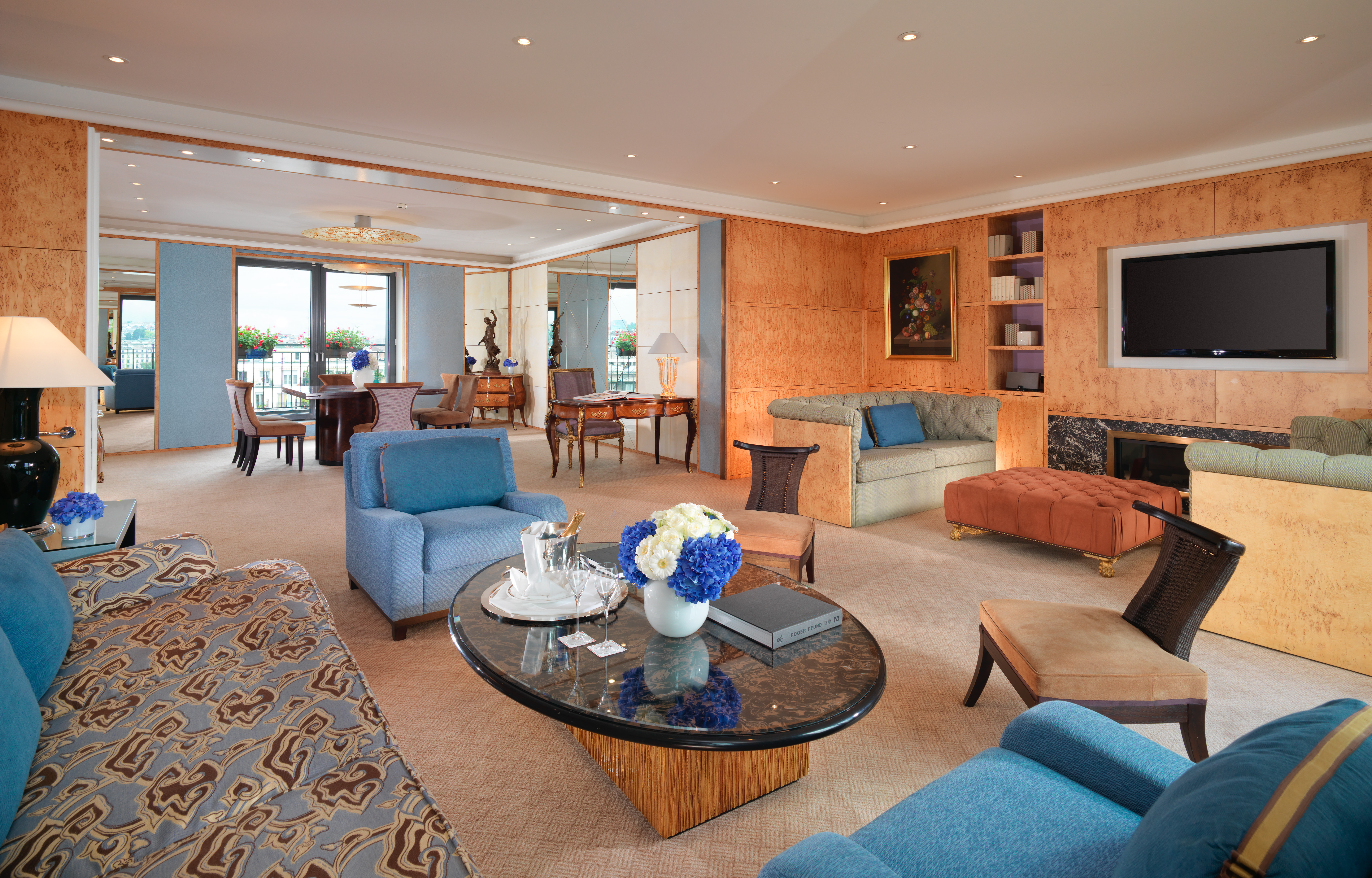 The Royal Armleder Suite at Le Richemond. Image courtesy Le Richemond