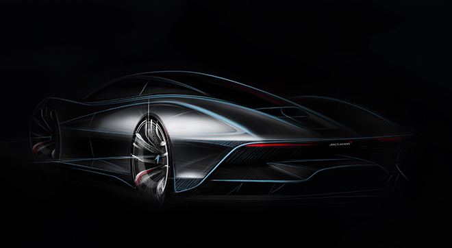 McLaren reveals further details of bespoke 'Hyper-GT' car | © McLaren Automotive