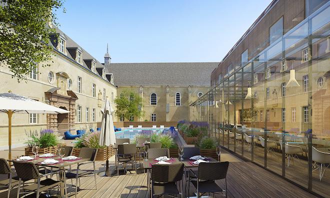 The Cité internationale de la gastronomie et du vin in Dijon, France. Image courtesy of Cité internationale de la gastronomie et du vin de Dijon