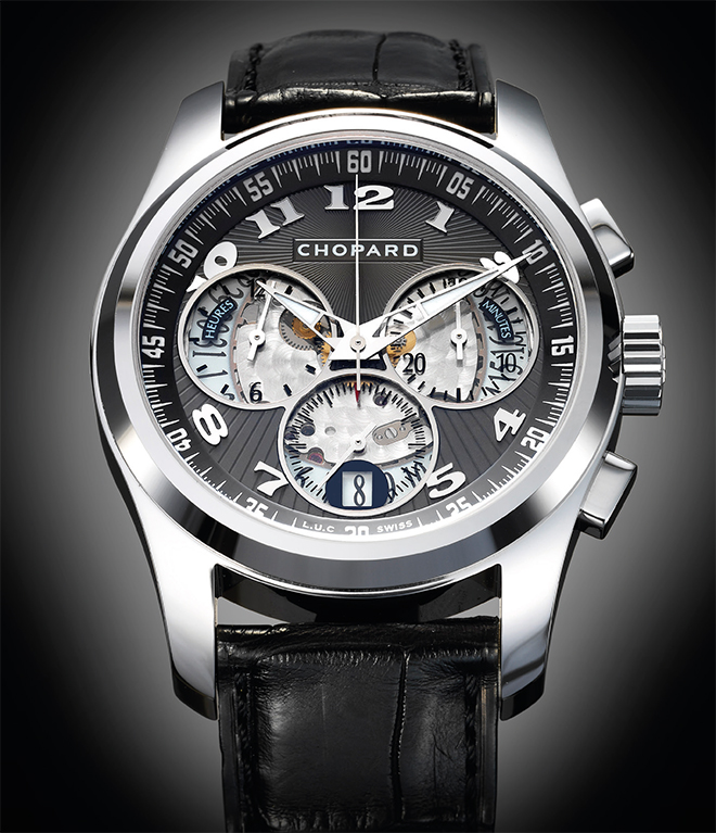 L.U.C Chrono One, Chopard's first in-house integrated chronograph.
