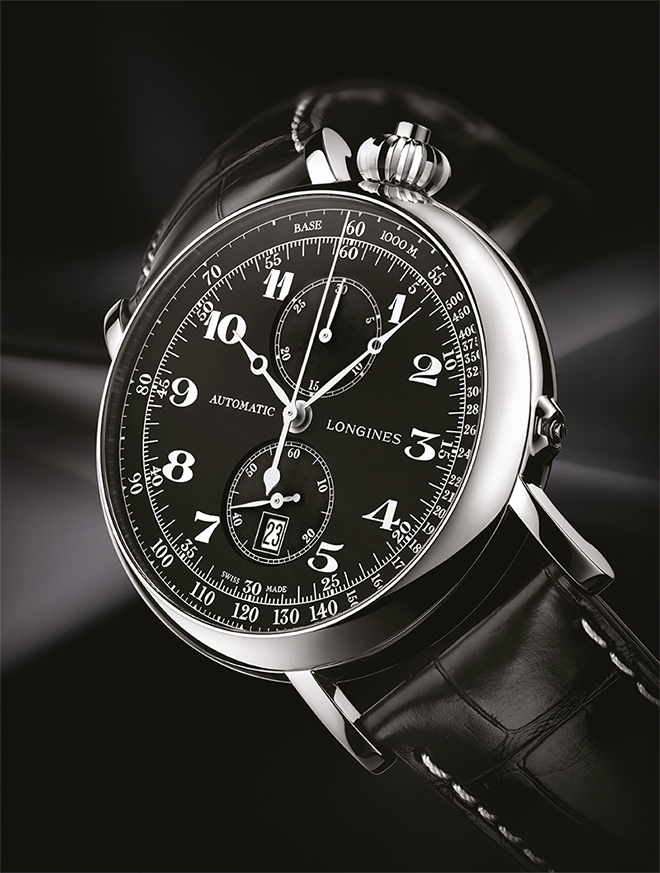 The 2012 version of the Longines Avigation Type A-7 shares the same calibre as the current Type A-7 1935 version.