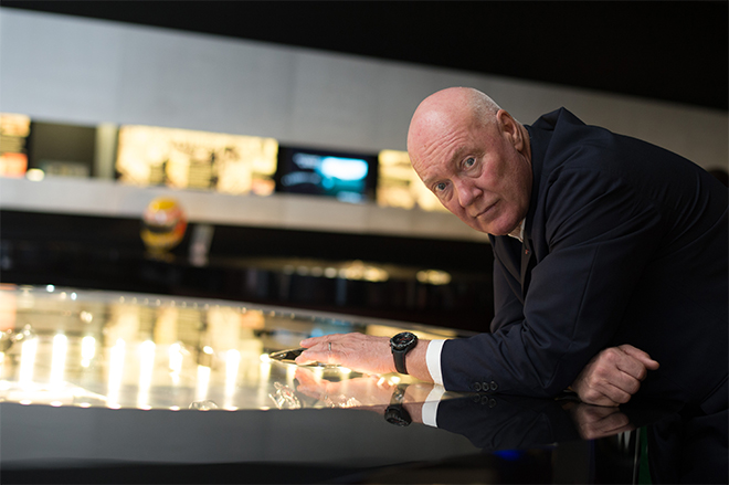 Jean-Claude Biver, the CEO of TAG Heuer and President of the LVMH Group's Watches Division.