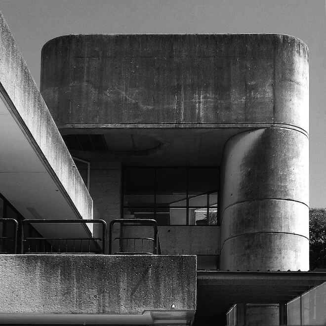 Bidura Children's Court, Brutalist Sydney Map. Image courtesy of Glenn Harper
