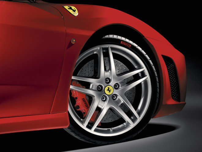 A Ferrari F430. Image from Ferrari Website