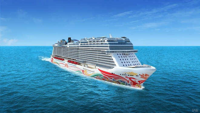 The Norwegian Joy. Image courtesy of Norwegian Cruise Line