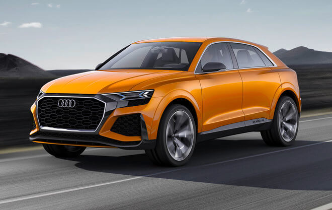 Audi Confirmed On Tuesday 11 April That Its Q Range Of Premium Off Roaders Is Set To Grow From Four Six Models Starting In 2018 With The Launch A