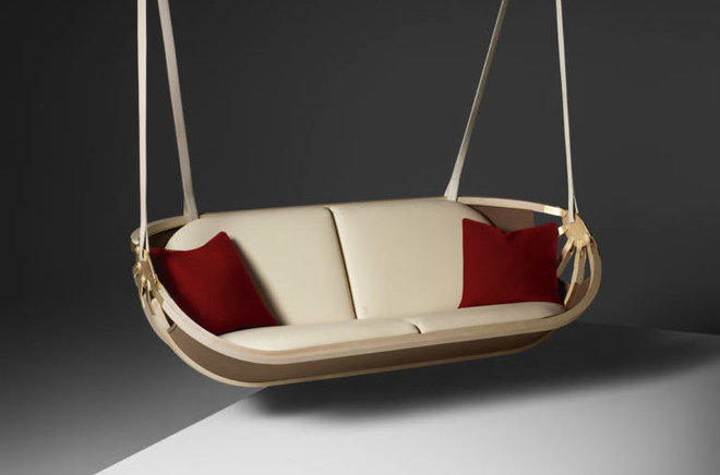 Superbe Swing Boat By Atelier Oi