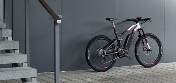 The current Audi Sport e-tron mountain bike is a high performance lightweight contender among electric bikes.