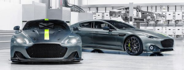 Aston Martin's new electric RapidE is based on the upcoming Rapide AMR concept.