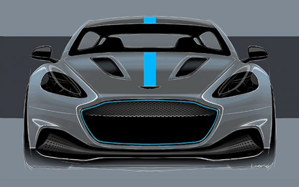 Aston Martin's first all electric RapidE spearheads the English brand's low and zero-emission strategy