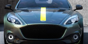 Luxury Car Launch: Aston Martin electric car RapidE will enter production in 2019