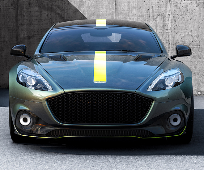 Luxury Car Launch Aston Martin Electric Car Rapide Will Enter