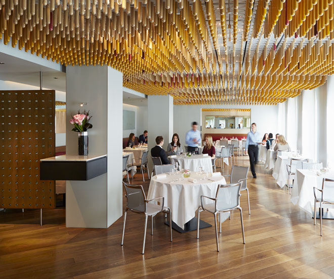 An epicurean adventure awaits at the COMO The Halkin's Ametsa restaurant.