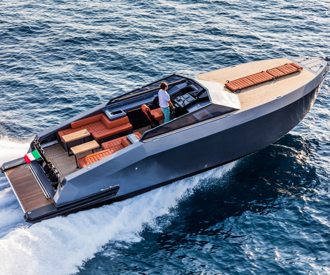 Mazu Yachts 38 Open Top