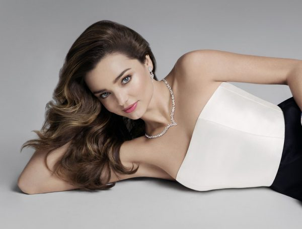 Miranda Kerr currently has her own collection of jewellery with Swarovski.