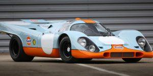 Classic car auction at Pebble Beach, California: Sale of Steve McQueen's 1970 Porsche 911