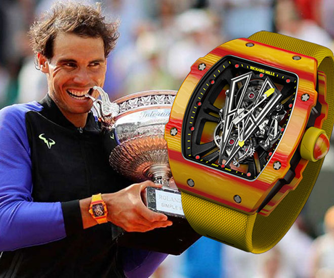 b2419927b ... player Rafael Nadal has done it again, winning his historic 10th French  Open title with another record setting watch – the Richard Mille RM 27-03.
