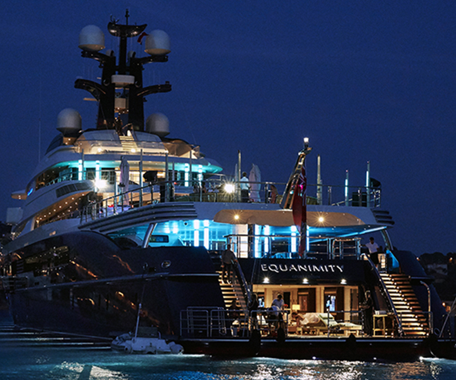US Department of Justice Seizes 91.5m Oceanco Equanimity yacht