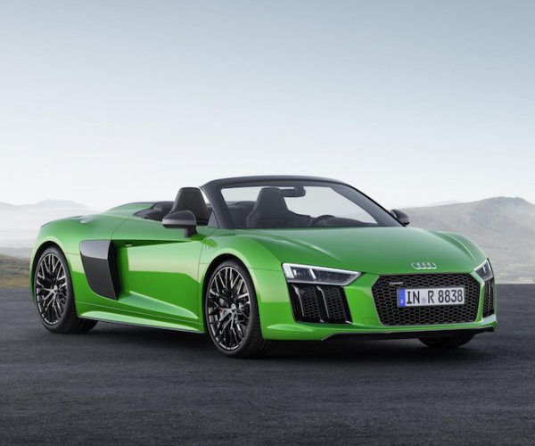 Fastest Audi Drop-top Sports Car: R8 Spyder V10 Plus Is