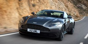 The new Aston Martin DB11: Aerodynamics with British aesthetics