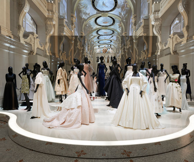 "Christian Dior: Designer of Dreams"" exhibit in France with historic ..."
