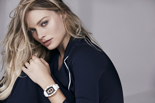 Margot Robbie joins a circle of women Richard Mille brand ambassadors who possess a combination of not just requisite sexiness but also street smarts, gumption and business acumen.