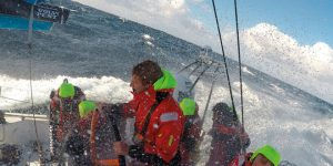 Volvo Ocean Race featuring 8 sailors for AkzoNobel