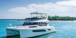 Aquila 44 catamaran unveiled at Singapore Yacht Show 2017