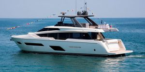 New yachts from Italy: Ferretti Yachts 780 debuting in September 2017