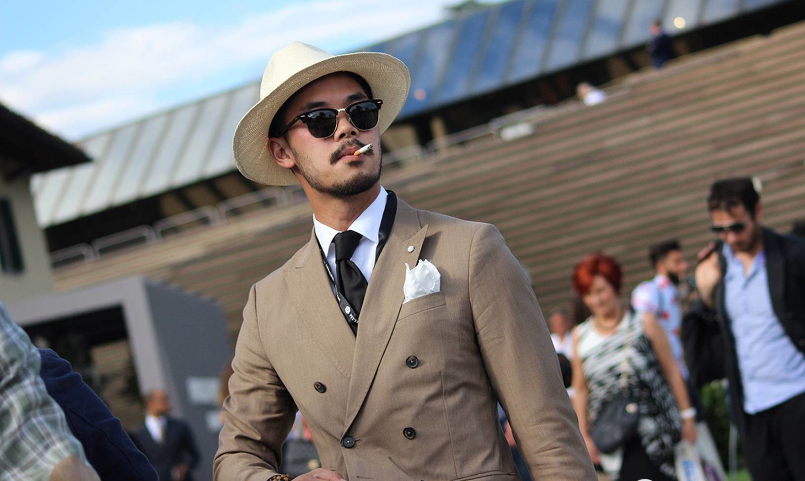 Based on a purely non-quantitative observation of number of hats at Pitti Uomo. Luxuo has to report that hats are probably going to become a menswear staple.