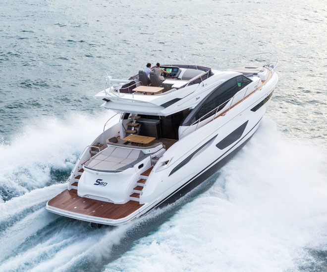 Princess Yachts S60 Flybridge Motor Yacht Sails Into South East Asia