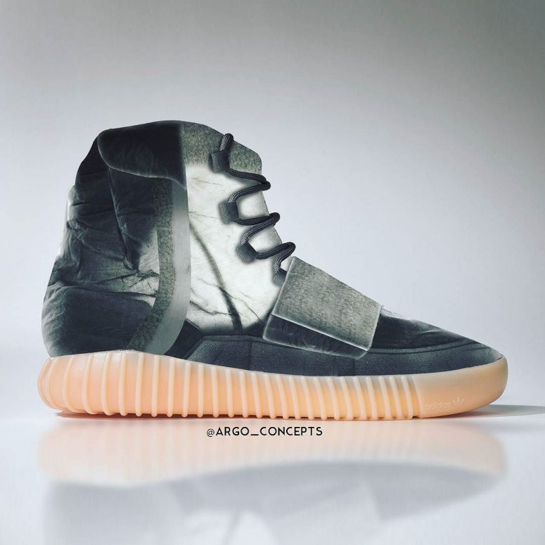 0b7329e9a87c2 Sneaker Art: Introducing Argo Concepts Translucent YEEZY Boost 350 ...