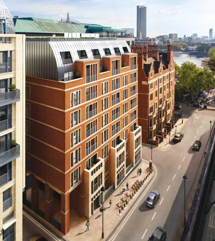Temple House, 190 Strand, an upcoming London luxury real estate development