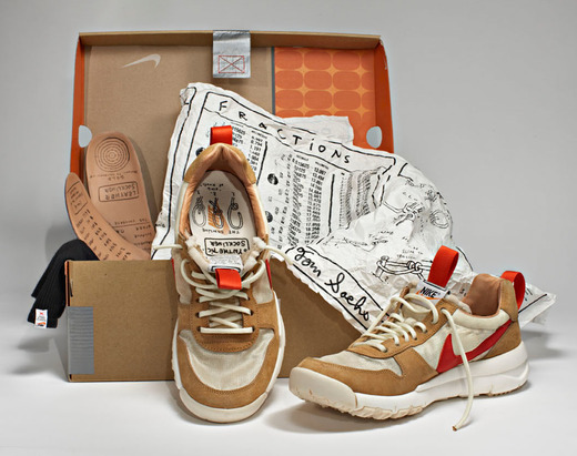 Tom Sachs NIKECraft: Mars Yard Shoe. Image: Tom Sachs