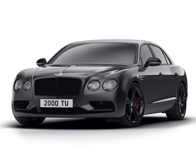 Bentley Flying Spur V8 Black Edition © Bentley Motors