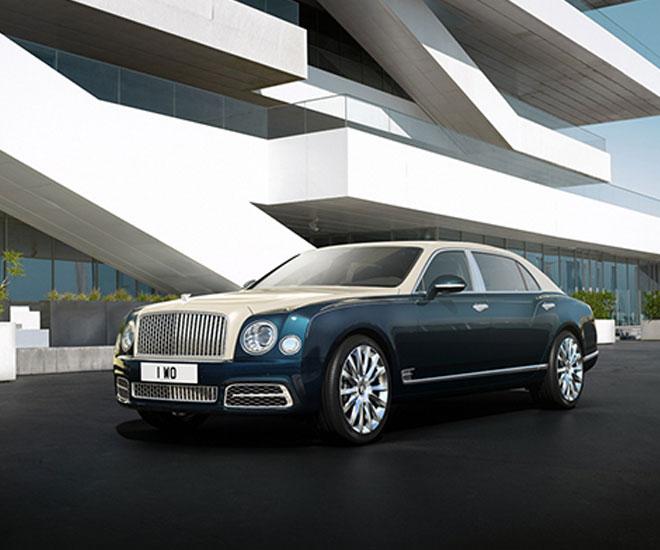 Bentley Mulsanne Hallmark Series Silver © Courtesy of Bentley