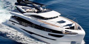 Luxury megayacht launches 2017: The Dominator Illumen 28M