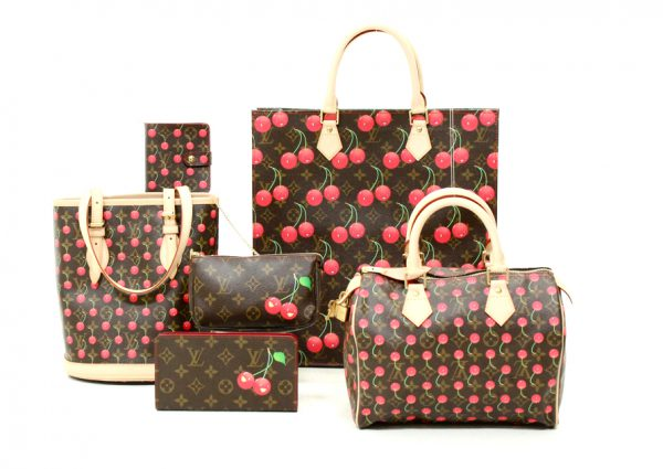 The Cherry World of Takashi Murakami, a collaboration with Louis Vuitton
